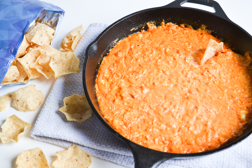 buffalo chicken dip on the grill