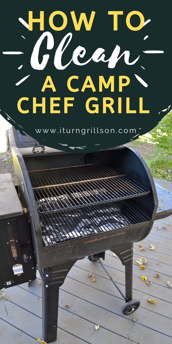 How to Clean a Camp Chef Grill